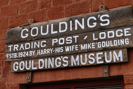 Goulding's Trading Post Museum.