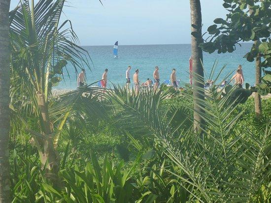 Melia Las Americas: beach volleyball