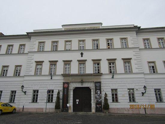 Museum of Military History (Hadtorteneti Muzeum) : 博物館の正面