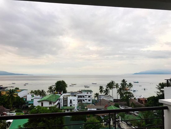 Sabang, ฟิลิปปินส์: Room 4, view from room.