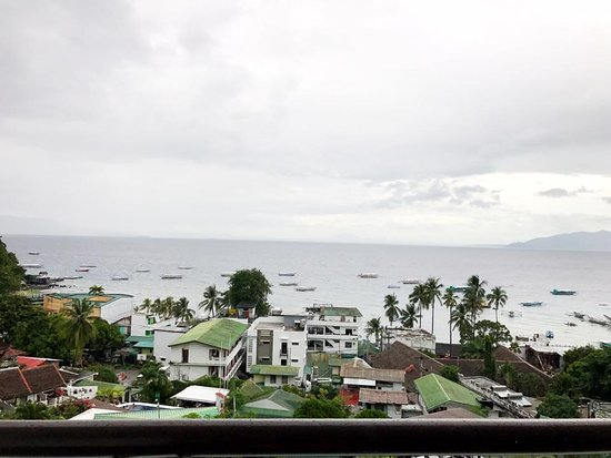 Sabang, Philippines: Room 8, view from room.