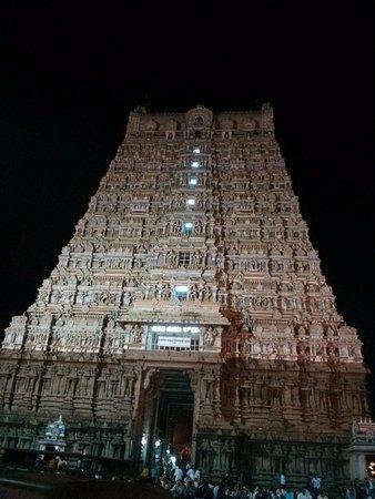 Tenkasi, อินเดีย: Temple entrace
