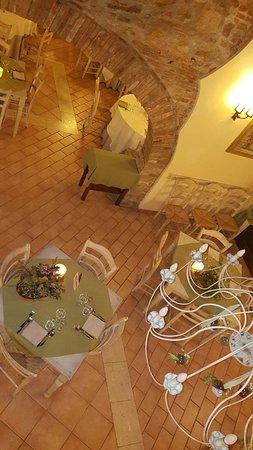 Guasticce, Italia: La vista dall'alto dove era il ns. tavolo