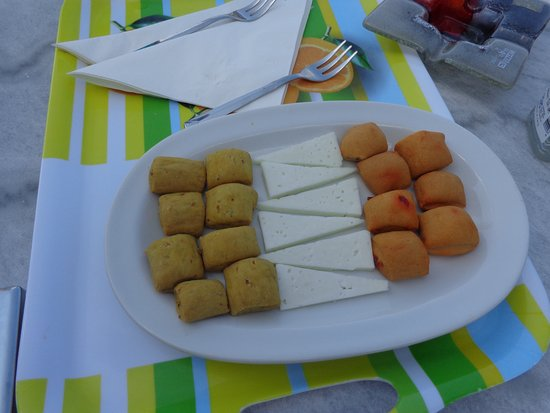 Tania Milos: Local cheese and home made nibbles on arrival (with wine!)