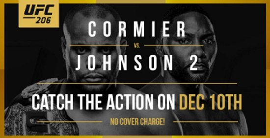 Surrey, Canada: Cormier vs Johnson 2 – December 10
