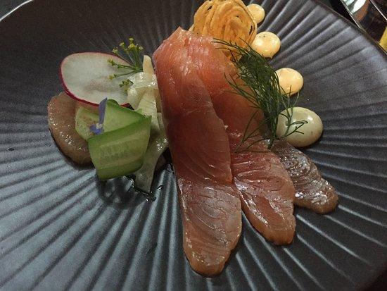 Como, Αυστραλία: Salmon Gravlax