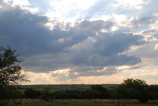 Centurion, Sør-Afrika: lovely views around the property and walks