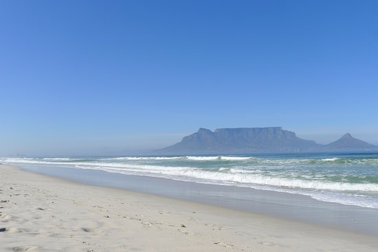 Table View, South Africa: The view of the beach
