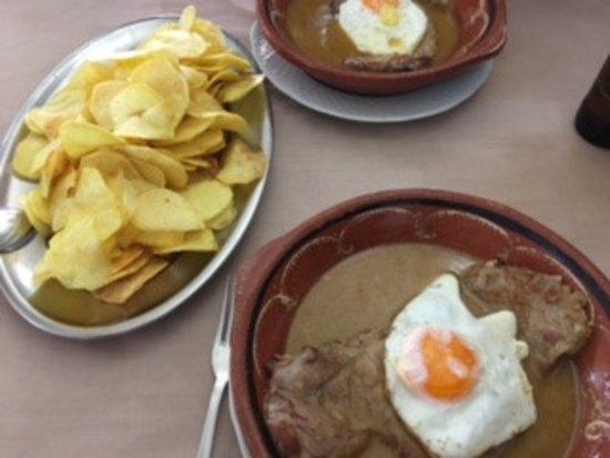 Santa Clara a Velha, Portugal: Delicioso molho