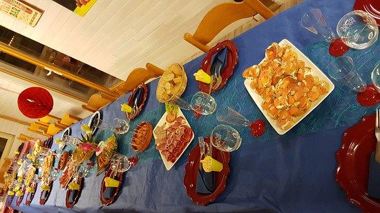 Restaurant l 39 antre 39 potes dans arveyres for Idee repas entre potes