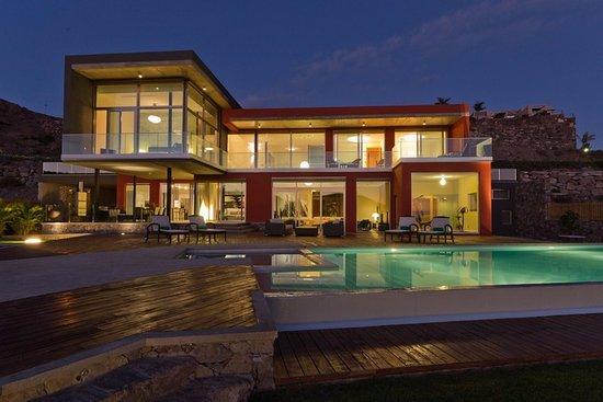 Special Lodges Villa Gran Canaria: calma fachada y psicina