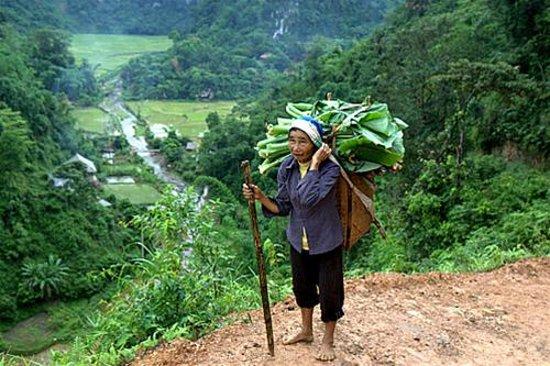 Lang Son, Vietnam: Kho muong village