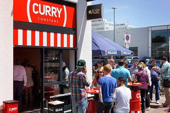 Curry Constanz: mit gemütlichem Biergarten