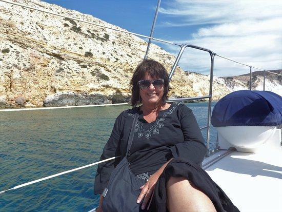Adamas, Greece: Sailing around Milos