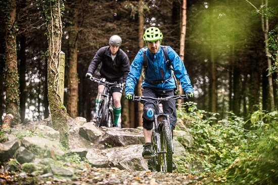 Fivemiletown, UK: Mountain Bike Trails
