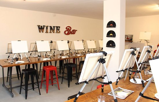 Rosso Paint Wine Bar