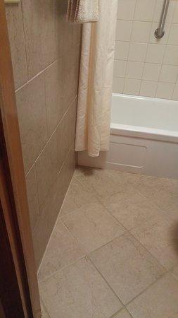 New Glarus, WI: Nice floor tile work