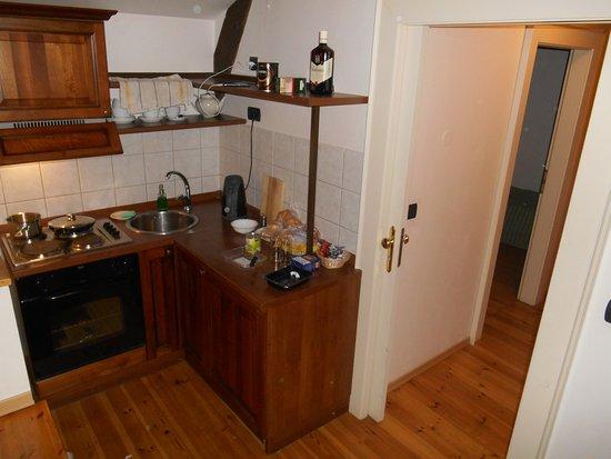 Hotel Residence Retezova: мини кухня