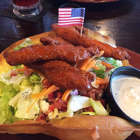 Valparaiso, IN: Buffalo Chicken Salad Bowl