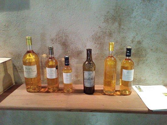Loupiac, France: Petite sélection de nos liquoreux