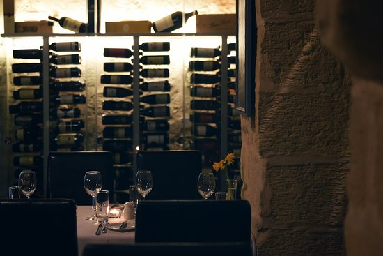 The Lord Nelson Restaurant: Wine cellar