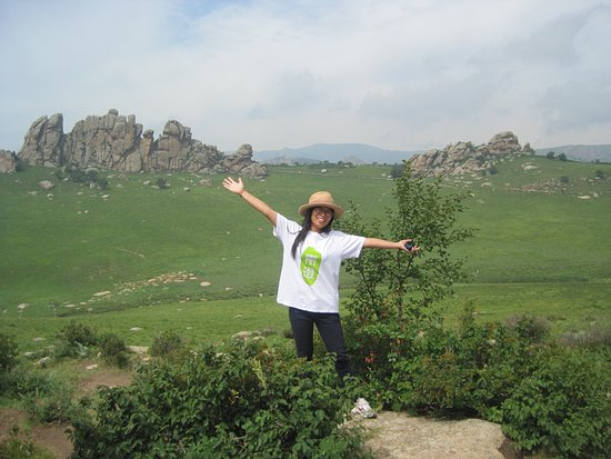 Keshiketeng Qi, Chiny: GF near first viewpoint