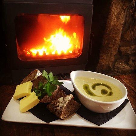 Larkhall, UK: Home made soup