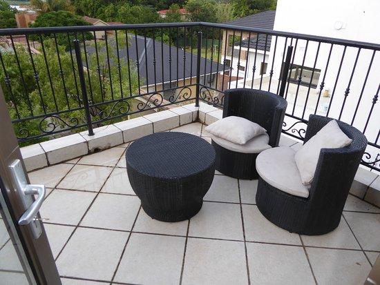 Benoni, Republika Południowej Afryki: Private balcony