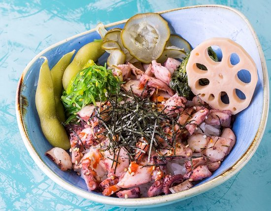 mahalo south pacific fine food he e poke