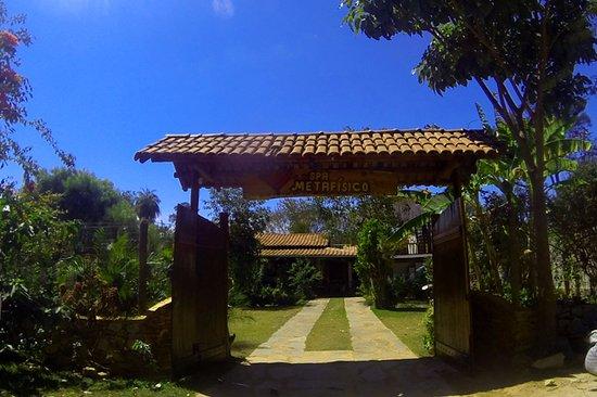 Santana do Riacho, MG: Entrada