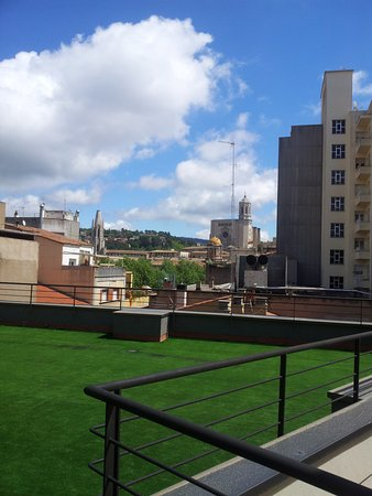 Hotel Gran Ultonia Girona: Vue depuis la chambre 419