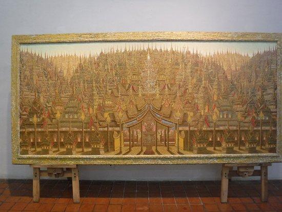 The National Gallery Bangkok : King Rama Exhibition