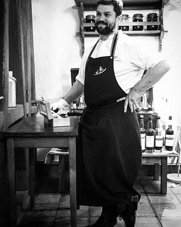 Le Bistro des Saveurs: Le chef Thierry Schwartz