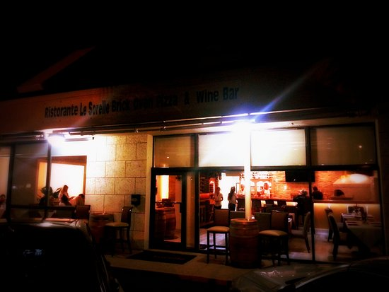 Le Sorelle Restaurant Italian Pizza Wine Bar Boca Raton