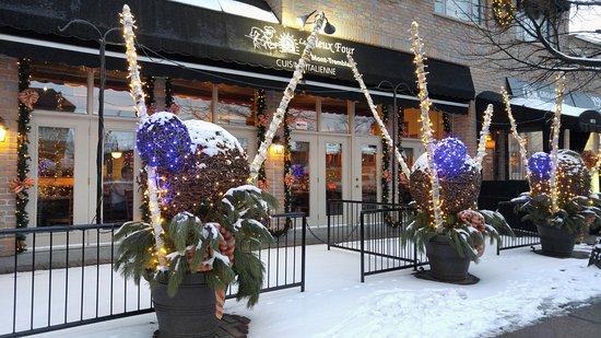 Restaurant Le Vieux Four : Le Vieux Four Mont-Tremblan (St-Jovite) Quebec