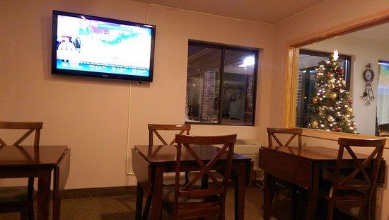 Onawa, IA: Breakfast area