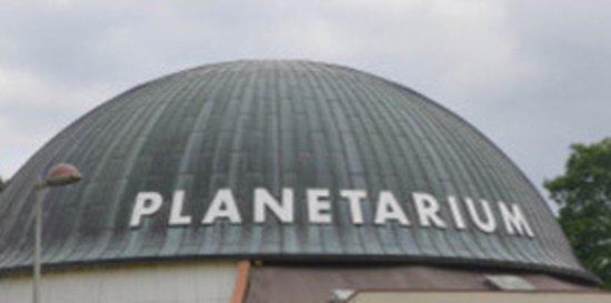 Planetarium de Bretagne: Le dôme