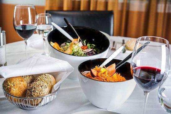 Thalwil, Schweiz: Salatschüssel