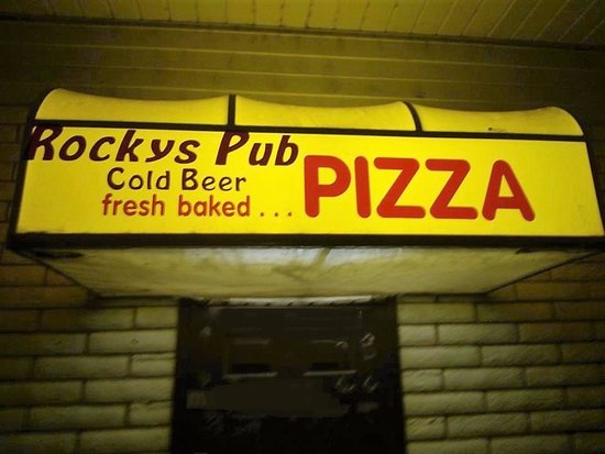 Delta, Юта: Rockys, THEY HAVE THE PIZZA!