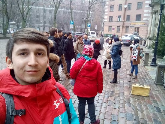 Riga Free Tour: Riga, near Saint Peter's Church, 12:00 - Riga Free Walking Tour with Anna Turoka, as a tour guid