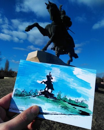 The Suvorov Monument: Generalissimo Suvorov monunent, postcards and free tour at dendemarchenko.blogspot.com