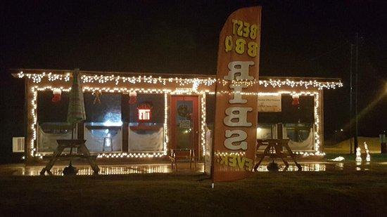 Somerville, TX: Moe's BBQ