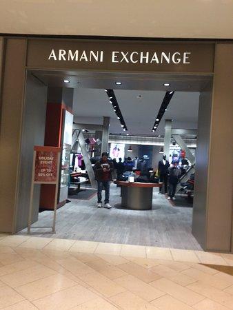 Armani Exchange Picture of Galleria Dallas Dallas TripAdvisor