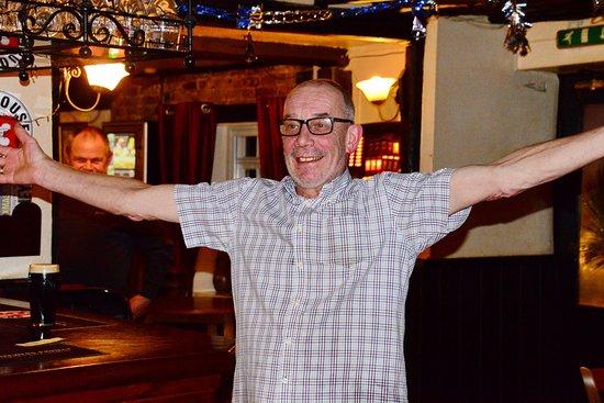 Stelling Minnis, UK: Bon ami landlord Stuart