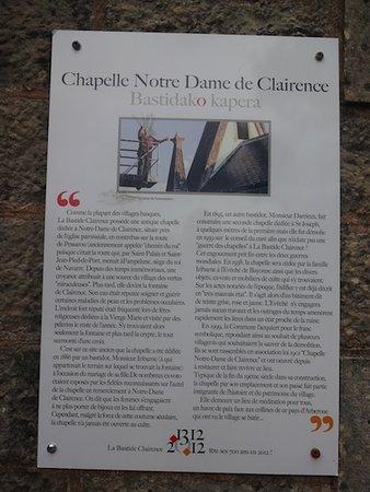 Chapelle Notre-Dame-de-Clairence, La Bastide-Clairence (64, Nouvelle Aquitaine), France.