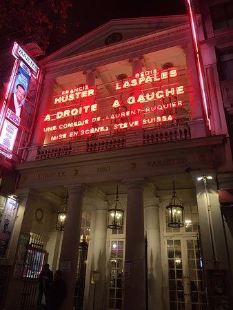 Thé¢tre des Variétés Picture of Theatre des Varietes Paris