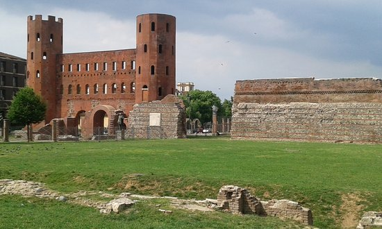 La Porta Palatina Picture Of Porta Palatina Turin