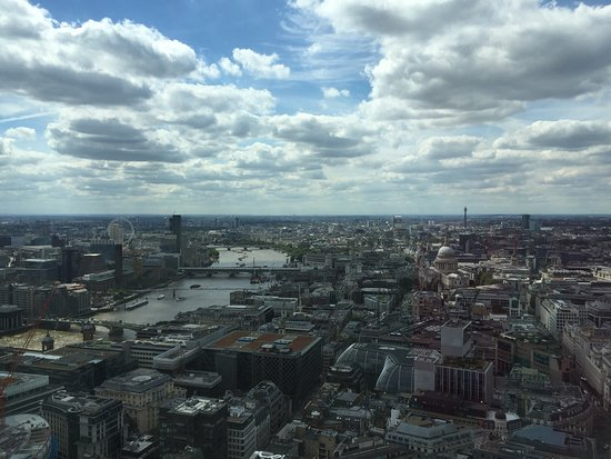 Sky Garden Exciting Place Whith A Great View And Good Restaurants