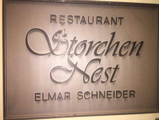 Dillingen, Germany: Storchennest