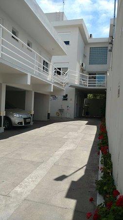 Jaguarão, RS: Estacionamento